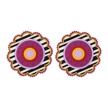 Set of 2 Round Placemats - Henne