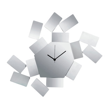 La Stanza Dello Scirocco Wall Clock - Large - Stainless Steel