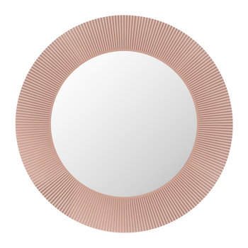 All Saints Round Mirror - Nude Pink
