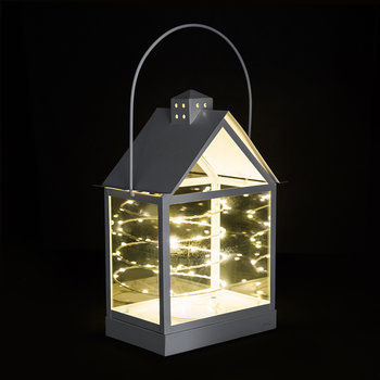 Lauritz LED Lantern - 30cm - White