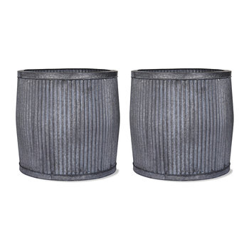 Large Vence Planters - Set of 2