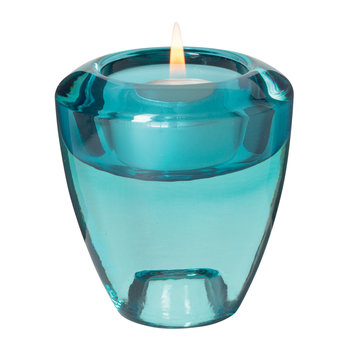 Flick Flack Tealight Holder - Turquoise
