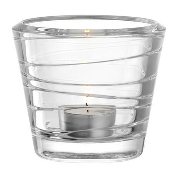 Vario Tealight Holder - Clear