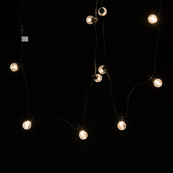 Lucas Black String Lights - Warm White