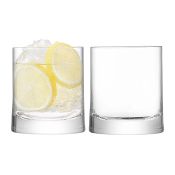 Gin Tumbler Glasses - Set of 2