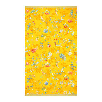 Hummingbird Beach Towel - Ceylon Yellow