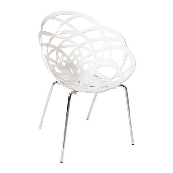 Flora Chair with Metal Legs