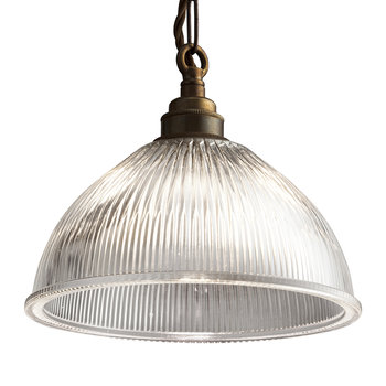 Dome Prismatic Pendant Light