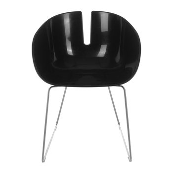 Fjord Armchair - Matt Black