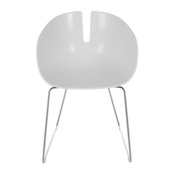 Fjord Armchair - Matt White