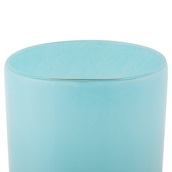 High Horizon Vase - Aqua/Gold