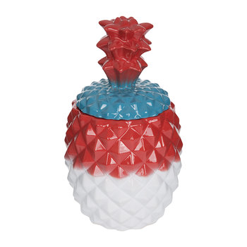 Pineapple Jar - Multi/Red
