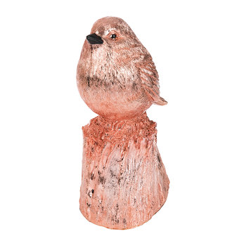 Whistling Bird Ornament - Red Copper