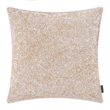 Sequined Cushion - 40x40cm - Pink