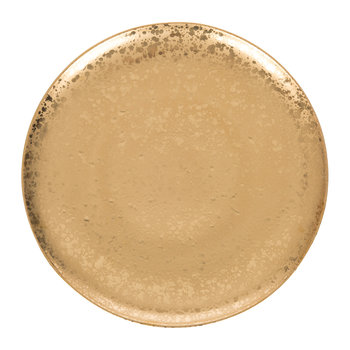 Alchimie Gold Charger Plate