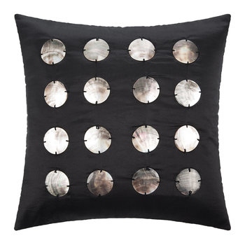 Ocala Silk Cushion - 45x45cm - Black