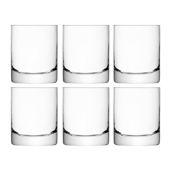 Bar Tumbler Glass - Set of 6 for 4