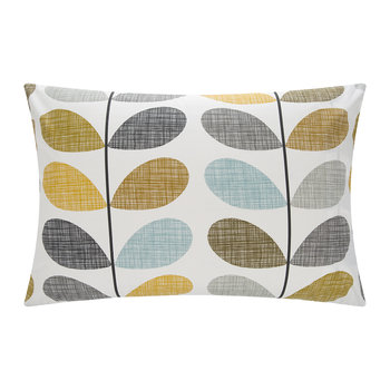 Scribble Stem Pillowcase - Seagrass - Set of 2