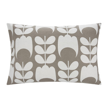 Tulip Flannel Pillowcase - Mushroom - Set of 2