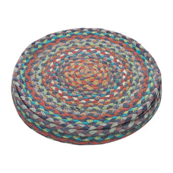 Round Placemats Set of 6 - Carnival Blue