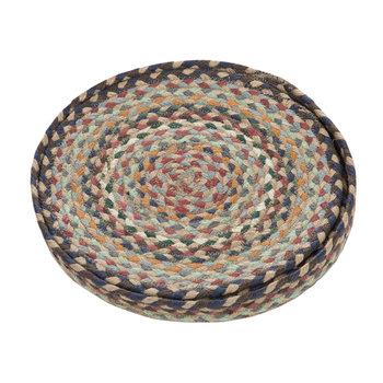 Rope Round Placemats - Set of 6 - Misty Blue