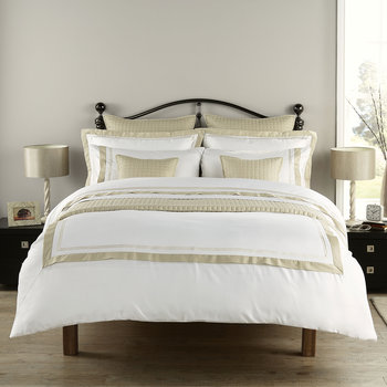 Coniston Duvet Set - Pale Stone