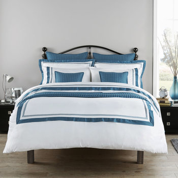Coniston Duvet Set - Slate Blue