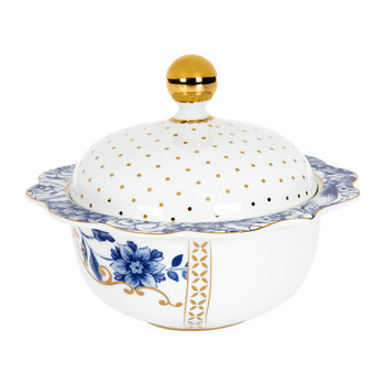 Royal White Sugar Bowl
