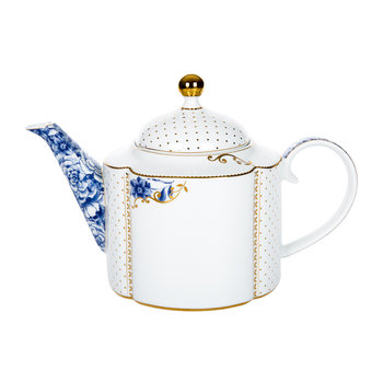 Royal White Teapot