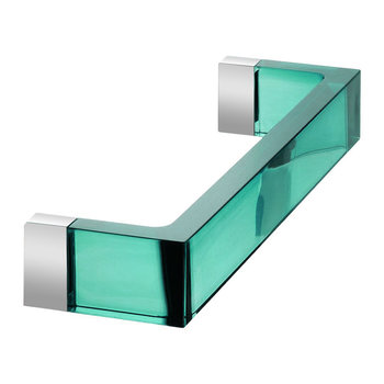 Rail Towel Holder - Aquamarine Green