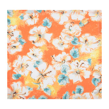 Hibiscus Napkin - Orange