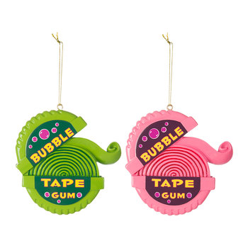 Bubblegum Tree Decorations - Set of 2