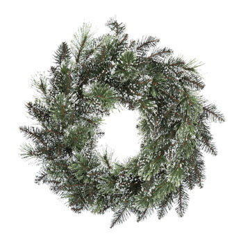 Frosted Finley Wreath