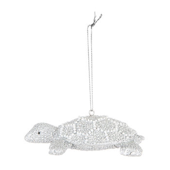Pearl Sea Turtle Tree Decoration