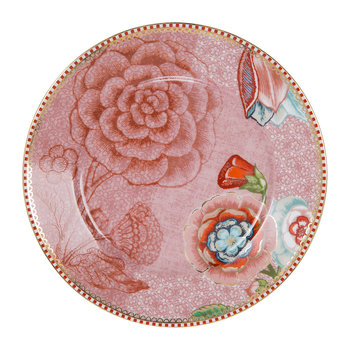 Spring To Life Side Plate - Pink