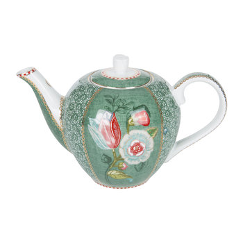 Spring To Life Teapot - Green