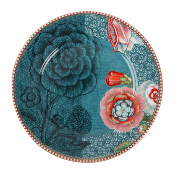 Spring To Life Plate - Blue