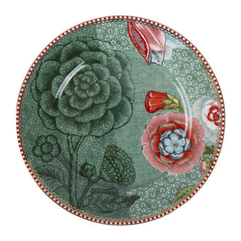 Spring To Life Plate - Green