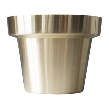 Brushed Flower Pot