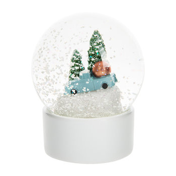 Home for the Holidays Snow Globe