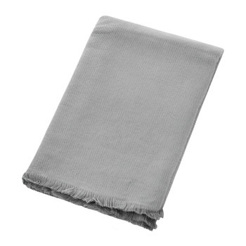 Couverture Tissée Opale - Shadow Grey