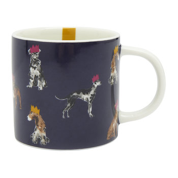 Cuppa Christmas Mug - Multi Dog