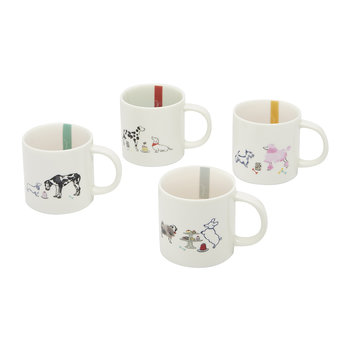 Cuppa Mugs - Set of 4