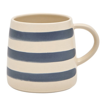 Gallery Grade Mug - French Navy Stripe