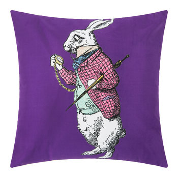 Alice In Wonderland Cushion - Rabbit
