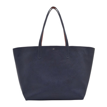 Reversible Revery Bright Shoulder Bag - French Navy