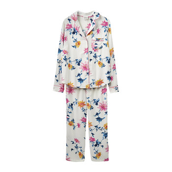 Women's Lyla Cream Clematis Pyjama Set