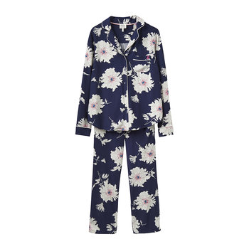 Women's Lyla French Navy Peony Pyjama Set