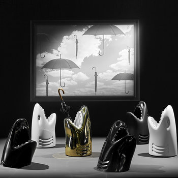 Killer Umbrella Stand - Black