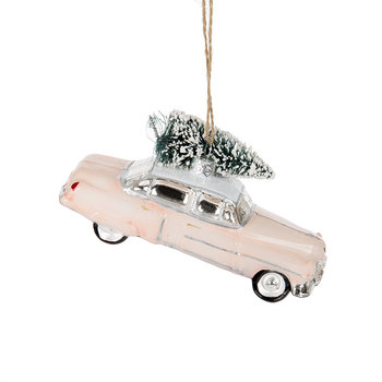 Pink Cadillac Tree Decoration